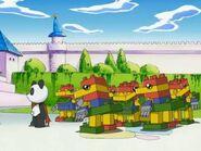 Pandamon y ToyAgumon