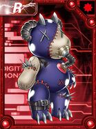 Porcupamon collectors card