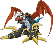 Imperialdramon - Dragon Mode