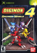 Digimonworld x xbox box front