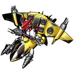 Shoutmon + Supersonic Sparrow b