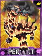 Volcdramon Collectors Perfect Card