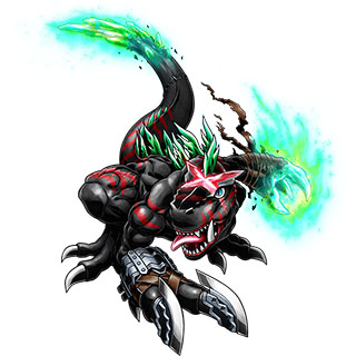 DarkTyrannomon X b