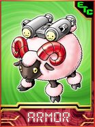Sheepmon Collectors Armor Card