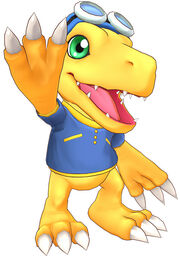 Agumon costume2 cs