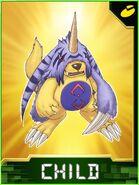 GabumonX Collectors Child Card