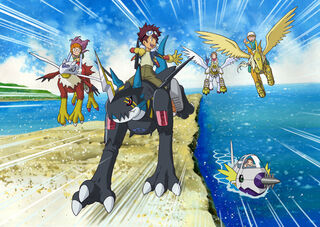 Digimon adventure 02 promo art
