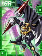 Darkknightmon ex collectors card