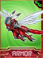 Flybeemon collectors card