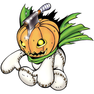 Pumpkinmon b