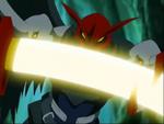 Ravemon's Sword Attacks