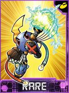 ThunderBallmonX Collectors Rare Card