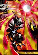 WarGreymon Crusader Card