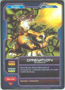 Greymon DM-199 (DC)