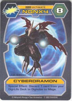 Cyberdramon DT-23 (DT)