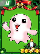 Mochimon Christmas Collectors Card
