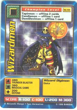 Wizardmon St-44 (DB)
