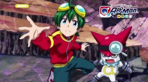 Digimon Appmon - 10 - Le rêve de tout Appmon. La légendaire réunion des 7 Codes! PV