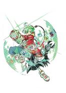 Digimon Universe Appli Monsters (manga) (Promo 1)