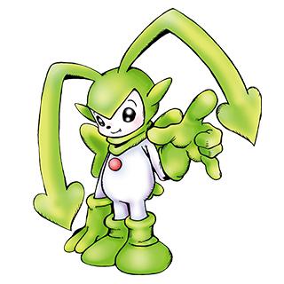 Bucchiemon (Green) b