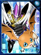 HolyAngemon and Patamon RE Collectors Card