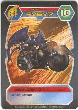 Beelzemon (Bluster Mode) DT-114 (DT)