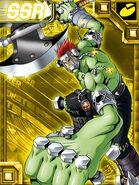 Boltmon ex2 collectors card