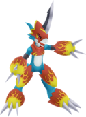 Flamedramon dl