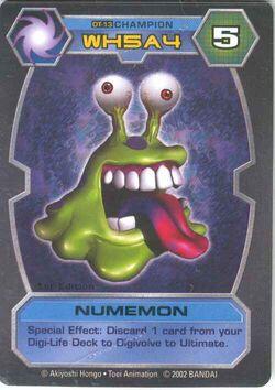 Numemon DT-13 (DT)