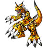 Growlmon (Yellow) b