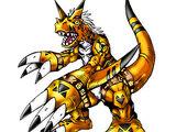 Growlmon (Yellow)