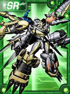Shoutmon EX6 Collectors Card