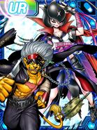 Bancho Leomon and Bancho Lilimon RE Collectors Card2