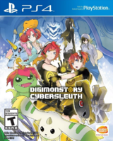 Digimon Story Cyber Sleuth PS4 box front