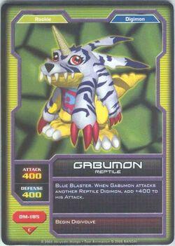 Gabumon DM-185 (DC)