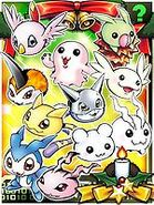 Digimon Collectors Babies Card