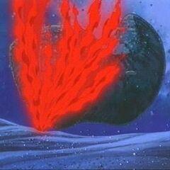 Die <b>Festung</b> wird in Brand gesetzt