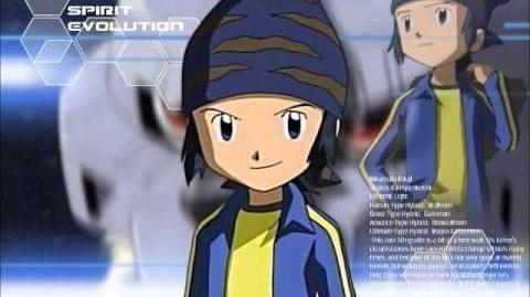 Digimon Frontier - In the Blue