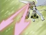 Nefertimon's Cat's Eye Beam AttackAnimation