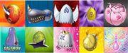 Todos los Digiegss Digimon Evolution