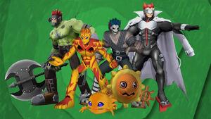 Digimon New Generation linea evolutiva solarmon