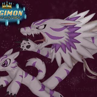 Toboemon y Wolfimon