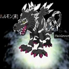 BlackGarurumon Digievolucion