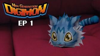 Digimon New Generation Cap 1 El Nacimiento de Wanyamon