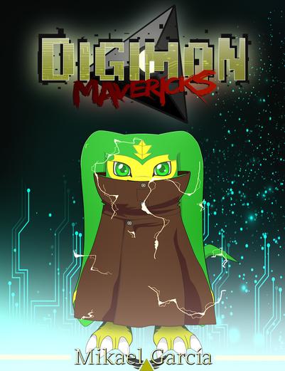 Portada Digimon Mavericks
