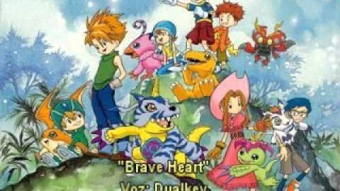Digimon-Brave Heart (Valiente Corazón) Fandub Latino Dualkey