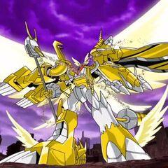 Shoutmon X7 Modo Superior(Con un nuevo poder divino supremo)