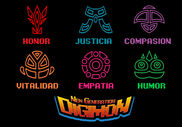 Digimon new generation serie live action emblemas gigano regulus
