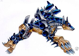 Metaldobermon by Gantzcraziness