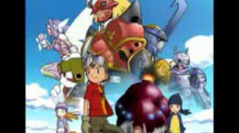 Digimon 4 With the will - cancion de evoluciones lirycs español